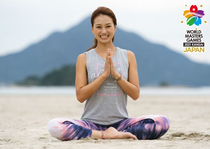 Fukui Takahama Beach Activity Feel the ocean through BEACH YOGA