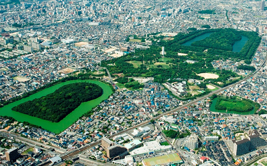 The Mozu Tombs, Osaka's first World Heritage Site